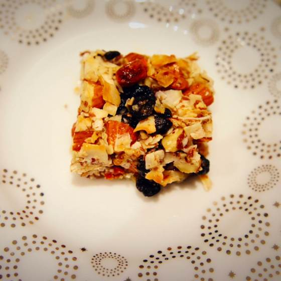 The Baconista - Very Berry Bars