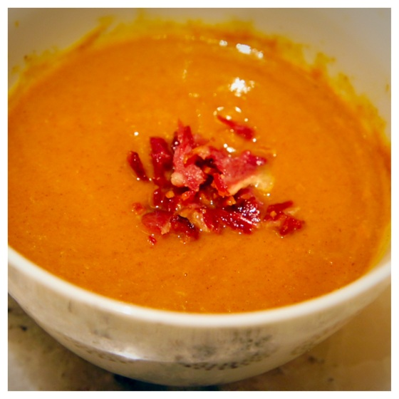 The Baconista - Butternut Squash Soup
