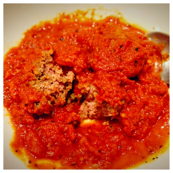 The Baconista - Classic Italian Meatballs