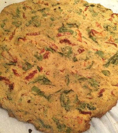 Sundried Tomato Flat Bread- The Baconista